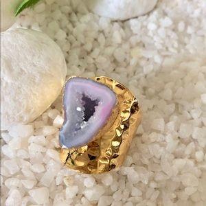 Jewelry - 💍🌸STYLISH DRUZY GEODE RING💍